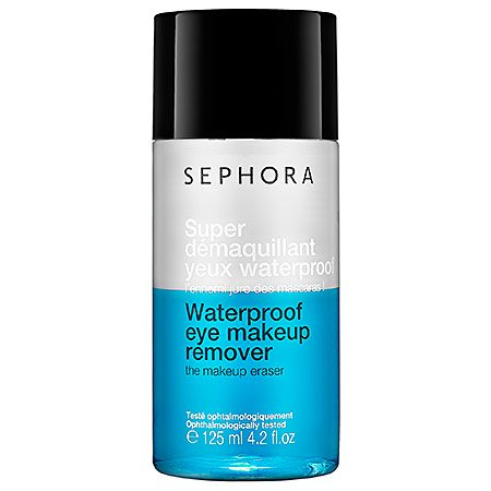 A waterproof eye makeup remover suitable for contact lens wearers and those with sensitive eyes. This do-it-all formula removes waterproof makeup and contains a lash-strengthening complex that's rich in flavonoids and olive wood extracts. It is formu...