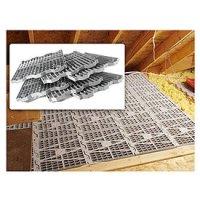 Amazon.com: Attic Dek Flooring -Pack of 4 panels (Gray ...