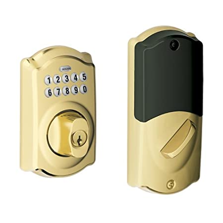 With this lock, you can grant access in two ways: 1. Program and assign up to 19 private, 4 digit codes for family members to punch in at the door. You can even set up onetime codes for guests, or recurring codes for housekeepers or caregivers. 2. Wh...