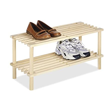 These natural wood household shelves are not only stylish but functional as well.  They can be used in closets, dorm rooms, laundry rooms, or anywhere you need a little extra storage space. They feature an easy no tool assembly for fast setup. Setup ...