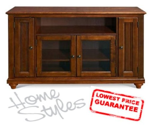 Image of Home Styles Furniture The Chesepeake TV Stand - Free Shipping (88-5529-10) (88-5529-10)