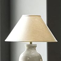 Couture Conical Lamp Shade - White 21 Inch - Ballard ...