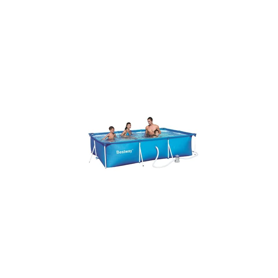 Solarplane Pool Rechteckig Intex Bestway 56078gs 118x79x26 3300l Splash Jr Frame Pool Set On Popscreen