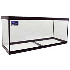 ADB11075 75 Gallon Aquarium Glass Tank, 48 by 18 by 20 Inch, Black