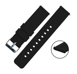 BARTON-Quick-Release-Watch-Bands-Choice-of-Colors-Widths-18mm-20mm-or-22mm-Soft-Silicone-Rubber