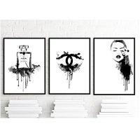 8.5x11 Set of 3 art prints - Coco Chanel Inspirational ...