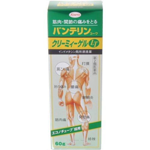 【第2類医薬品】バンテリンコーワクリーミィーゲルLT 60g