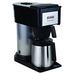 BUNN BTX-B Velocity Brew 10-Cup Thermal Carafe Home Coffee Brewer
