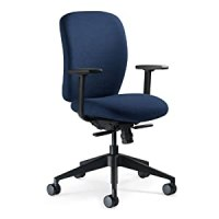 Amazon.com: Steelcase Jack Fabric Chair, Navy: Kitchen ...