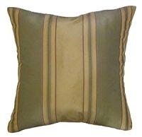 Amazon.com: 24x24 Green and Light Gold Stripes Decorative ...