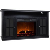 "Dcor Flame Monarch 56"" Media Fireplace, for TVs up to 65 ..."