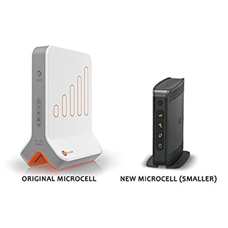 This AT&T Microcell is built by Cisco Systems, a leader in cellular network technology. It can provide up to 5 bars of AT&T cell signal to your 3G and 4G mobile phones (including iPhone, Android, and Windows mobile). Setup is quick and easy - just fo...
