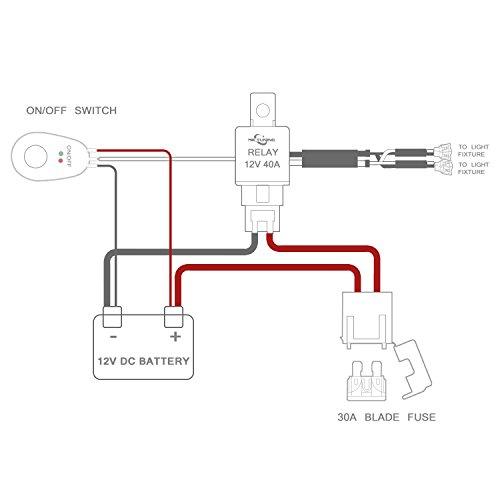 led light bar wiring no relay
