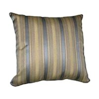 Amazon.com - 12x12 Teal Blue and Gold Stripes Brocade ...