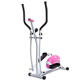 Sunny-Health-and-Fitness-Pink-Magnetic-Elliptical-Trainer