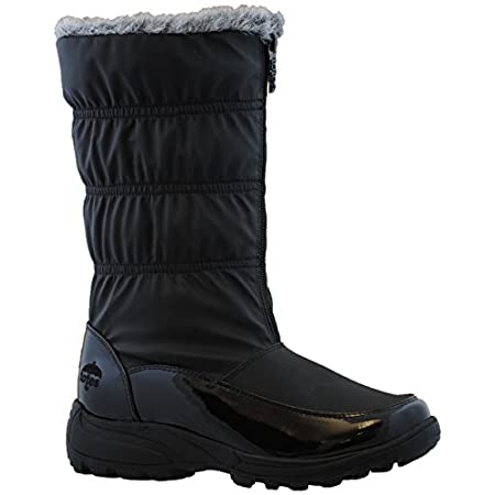 This sleek, slouchy Totes boot warms and protects in every kind of weather. The top faux fur lining provides toasty, fashionable insulation and the matte waterproof outside material promises to keep your feet dry through all inclement situations. The...
