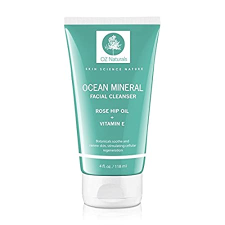 This organic face wash is a superior cleanser that deep cleans and unclogs pores with ocean minerals, Vitamin E and rose hip oil. It will provide your skin with a healthy, youthful glow. Developed to specifically be gentle on sensitive skin yet highl...