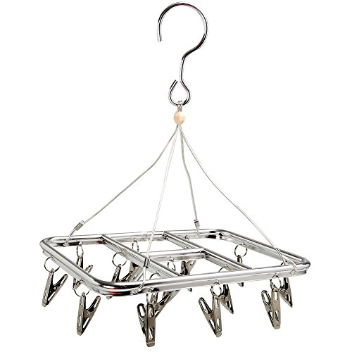 Clip Drip Hanger Clothes Drying Rack Stainless Steel