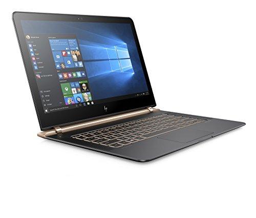 "HP Spectre 13-v003nl Notebook, Intel Core i5-6200U, RAM 8 GB, SSD 256 GB PCIe, Display WLED 13.3"", Argento Cenere Scuro"