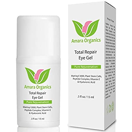 Are You Sick of Dark Circles, Puffiness, & Tired Looking Eyes? Try Our Total Repair Eye Gel For Brighter, Happier Eyes! Feel this eye gel go to work from the moment you put it on. A dab of this soothing eye gel instantly awakens and tightens skin a...