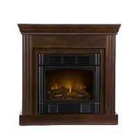 Amazon.com - SEI Walden Electric Fireplace, Espresso - Gel ...