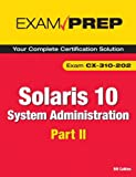 41ofFucdCAL. SL160  Top 5 Books of Solaris Computer Certification Exams for March 22nd 2012  Featuring :#4: Solaris 10 System Administration Exam Prep