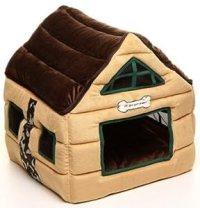 Amazon.com : Super Nice Brown Indoor soft Dog House/pets ...