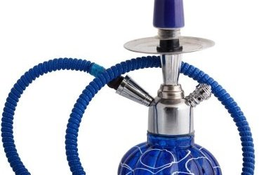 JaipurCrafts Decorative Stylo 12 inch Glass, Iron Hookah