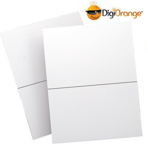 DigiOrange 200 Shipping Labels Half Page Self Adhesive for Laser