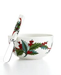 Amazon.com | Martha Stewart Collection Dinnerware, Holiday ...