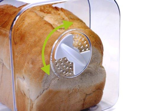 Progressive Int39l Expandable Bread Keeper Box W Cutting