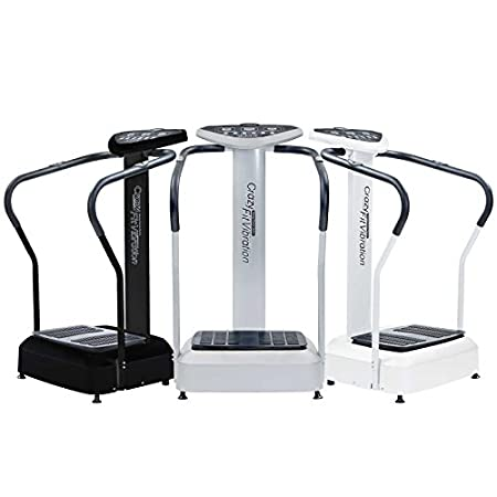 Packed with power and features, the Pro Whole Body Exercise Machine from Crazy Fit Vibration gives you a professional vibration plate experience at an amazingly reasonable price. This machine features an extremely powerful 1,000w vibration motor and ...
