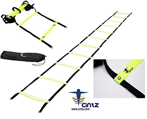 Agility Ladders Fixed Rungs Speed Agility Ladder Ebay