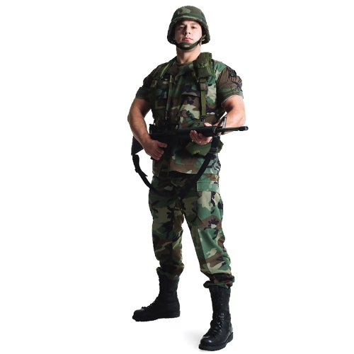 U.S. Soldier Standup 米兵等身大パネル♪ハロウィン♪サイズ: