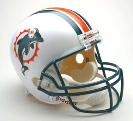 Dolphins Deluxe Replica Football Helmet Promotional Codes