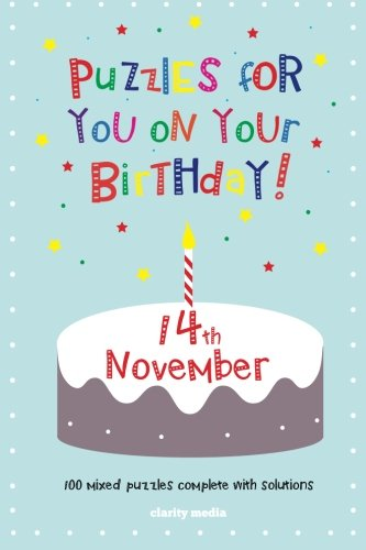 Puzzles for you on your Birthday - 14th November