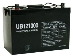 UB 121000 - Trolling Motor Battery