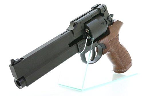 マルシン 6mmBBガスガン マテバリボルバー ブラックHW プラグリップ仕様 Xカートリッジ