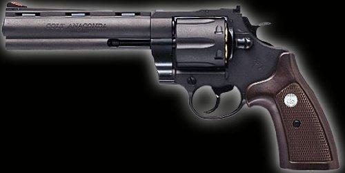 マルシン コルト・アナコンダ・6mmBBエックスカートリッジシリーズ・6インチ ブラック HW