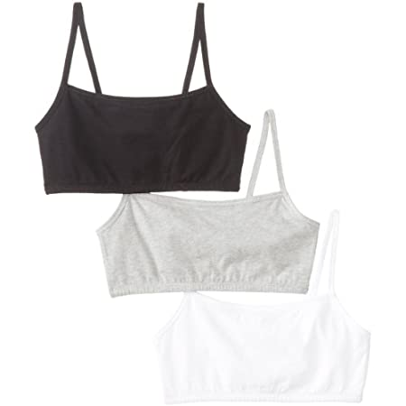 Get comfort and support from the brand you trust with the Fruit of the Loom Strappy Women's Sport Bras, 3-Pack. Made with 2-ply cotton Lycra fabric for coverage and support, this Fruit of the Loom sport bras pack is a smart buy for active women. Whet...