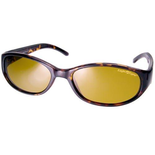 【輸入元】Eagle Eyes(イーグルアイズ) / トスカン 偏光サングラス 紫外線カット率99.9% 横長スタイル Tuscan