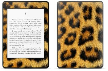 Amazon Kindle Paperwhite スキンシール アニマル ヒョウ柄 (No.253-kpw)