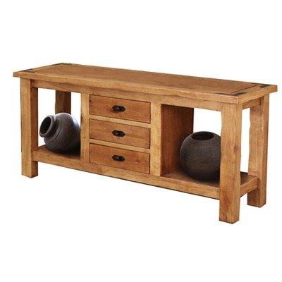 Image of Artisan Home Furniture Lodge Console Table (LHR100CONS)