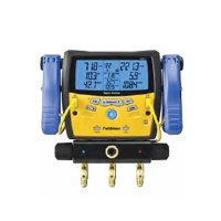 Fieldpiece SMAN340 3-Port Digital Manifold with Pipe ...