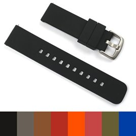 GadgetWraps-22mm-Silicone-Strap-Band-for-Pebble-Watch-with-Quick-Release-Pins