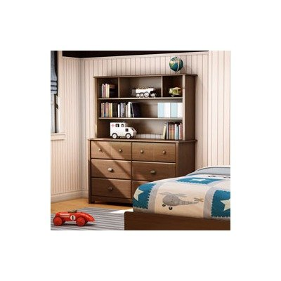 Image of Willow Kids Dresser and Hutch Set Finish: Cherry (3356027 / 3356072)