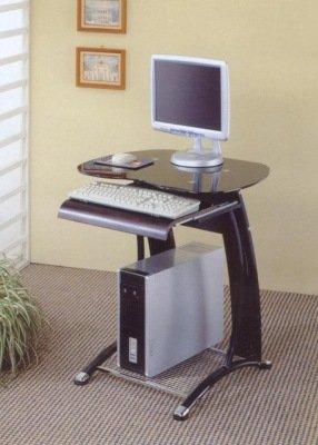 Picture of Comfortable Small Black Computer Desk (B0017DQBZ2) (Computer Desks)