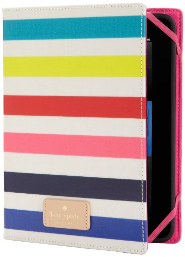 kate spade new york Candy Stripe Case (Kindle Fire HD(2012年モデル)専用)
