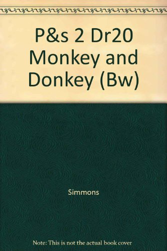 P&s 2 Dr20 Monkey and Donkey (Bw)