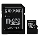 Professional Kingston 32GB Asus PadFone X MicroSDHC Card with custom formatting and Standard SD Adapter! (Class 10, UHS-I)